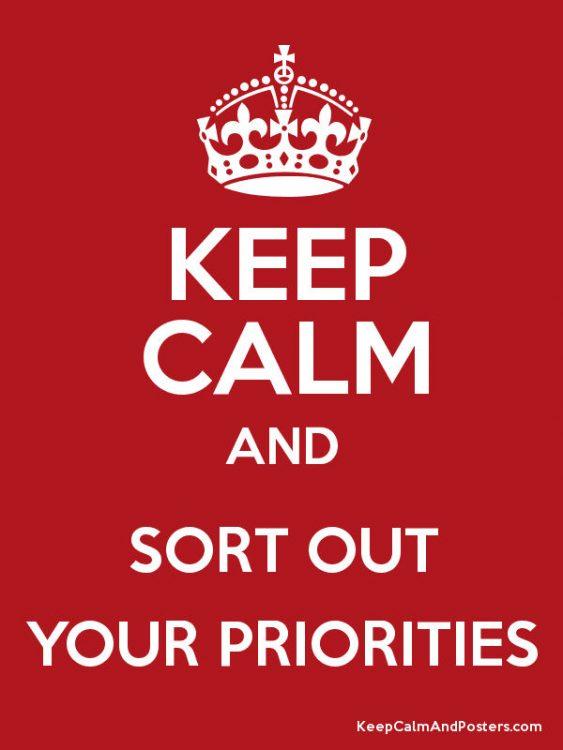 اولویت ها