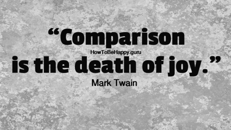 مقایسه و شادی